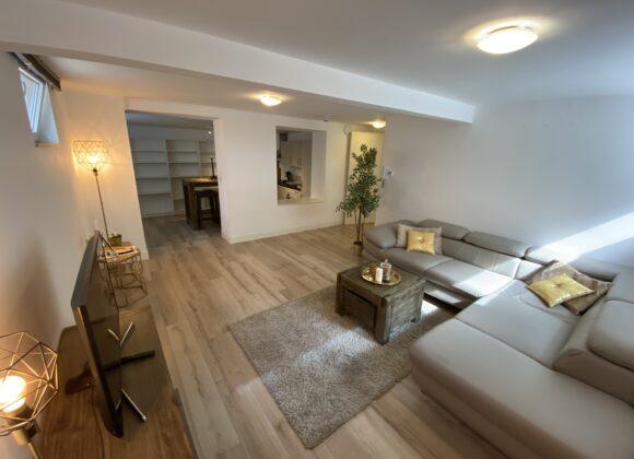 Light and Spacious Apartment (basement)